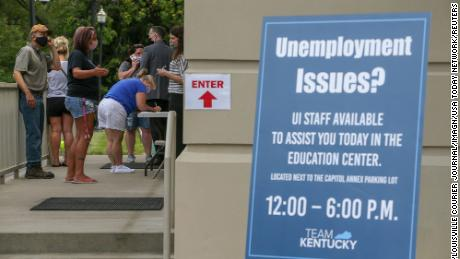 Allowing the $600 unemployment benefit to expire could devastate the US economy