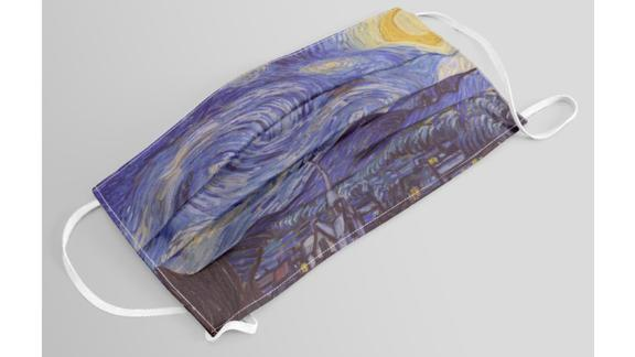 Vincent Van Gogh Starry Night Face Mask