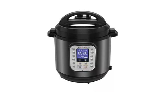 Instant Pot Duo Nova Black Stainless Steel 6-Qt. 7-in-1 One-Touch Multi-Cooker