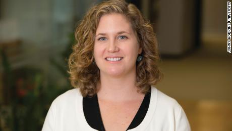 Jennifer Nuzzo, an associate professor in the university's Bloomberg School of Public Health, also contributes to the US dashboard.
