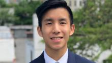 Ryan Lau, a graduate software engineer in the university's Applied Physics Laboratory, plays a key role in collecting the data.