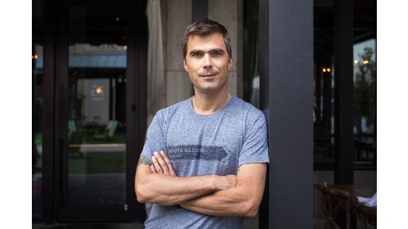"""Top Chef"" Judge Hugh Acheson"