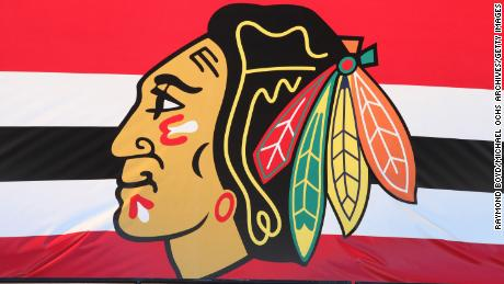 The Chicago Blackhawks have no plans to change its team name.