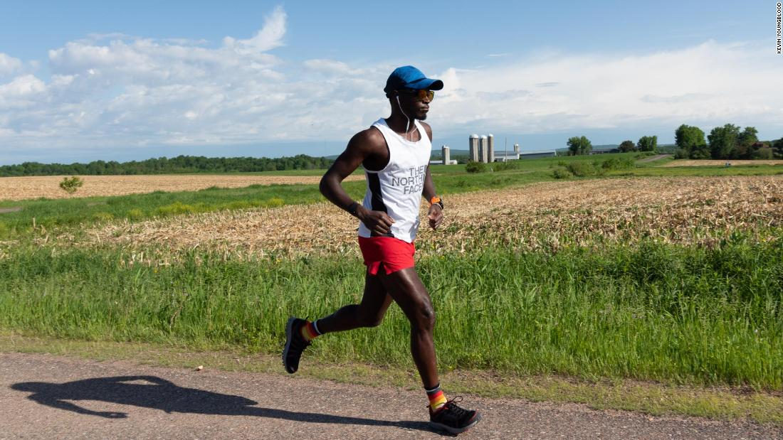 Ultrarunner runs almost 1,200 miles in record time
