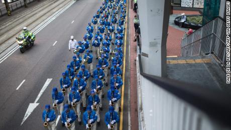 Les pratiquants de Falun Gong sont depuis longtemps une partie vocale et organisée du mouvement anti-gouvernemental plus large de Hong Kong.