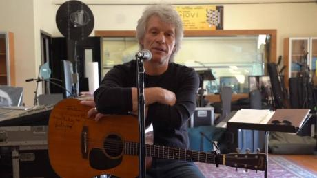 Jon Bon Jovi is keeping his community fed and helping fans tell their stories.