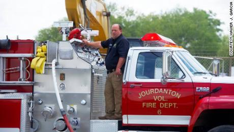 David Prasifka worked for the Jourdanton volunteer fire department for over 25 years.