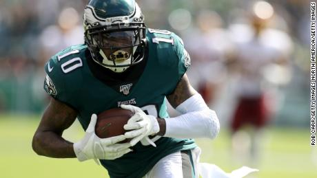 Philadelphia Eagles 'penalize' DeSean Jackson for anti-Semitic statement