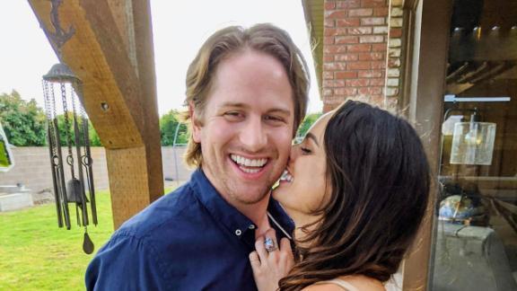 Alec Mahon and his girlfriend Brooke