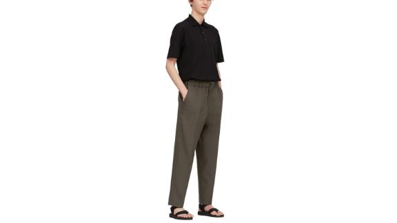 U Fit Wide Tapered Pants