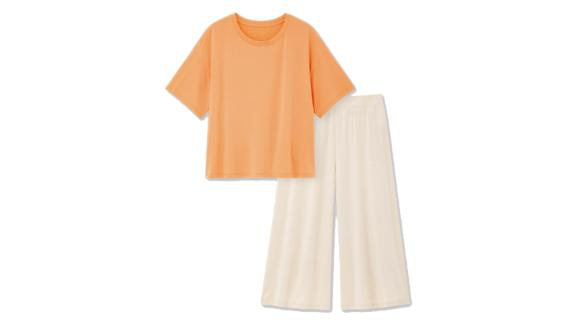 Ultra Stretch Airism Short-Sleeve Set