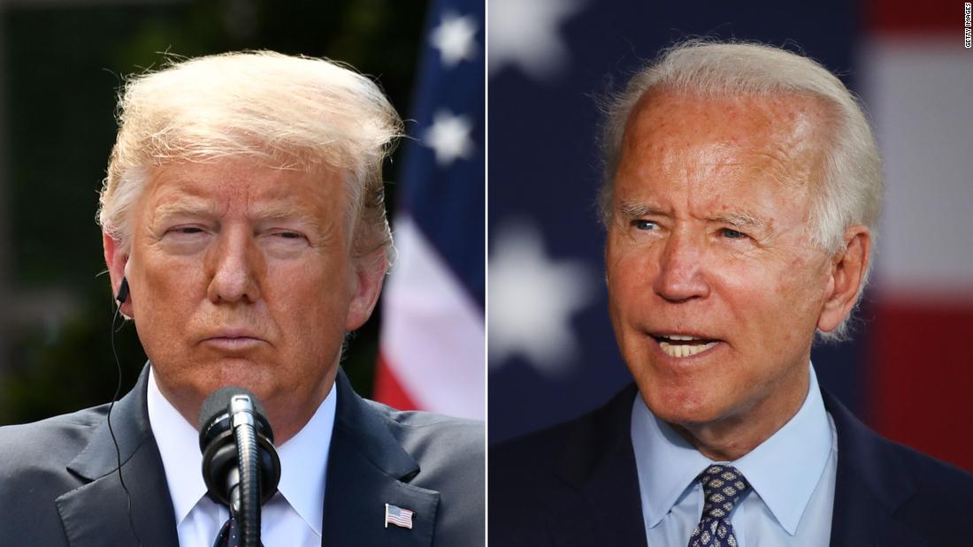 CNN Poll of Polls: Biden maintains double-digit lead over Trump nationally, with coronavirus a top issue