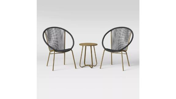Fisher 3-Piece Patio Chat Set
