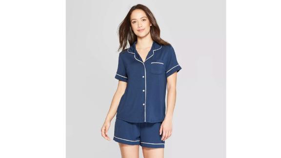 Stars Above Beautifully Soft Notch Collar Pajama Set