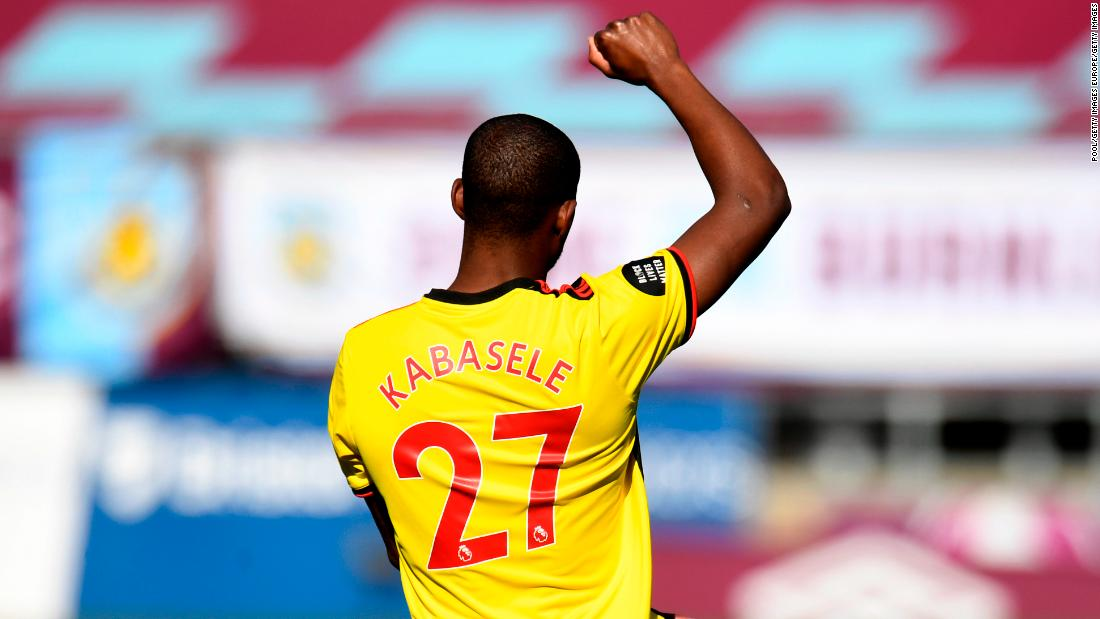 Christian Kabasele says racism online 'is worse' than incidents in stadium