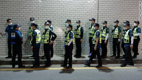 Des centaines de policiers ont été déployés pour retrouver le maire jeudi soir.