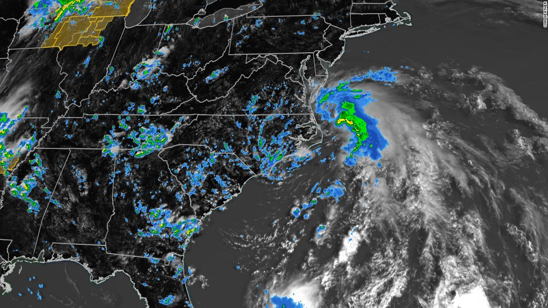 Tropical Storm Fay forms and will likely make landfall in the Northeast Friday – CNN