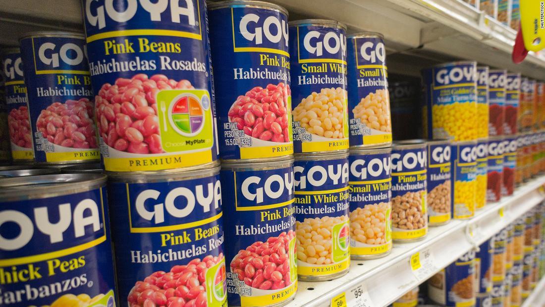Goya Foods boycott takes off after its CEO praises Trump – CNN
