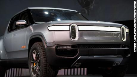 Rivain plans to begin sellings its all-electric plckups and SUVs next year.