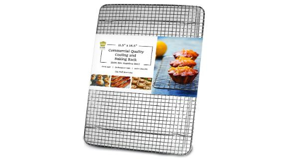 Ultra Cuisine 100% Stainless Steel Wire Baking and Cooling Rack