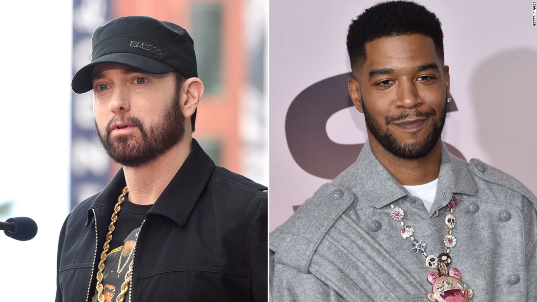 Eminem Slams People Who Don T Wear Masks In Kid Cudi Collaboration Song Cnn