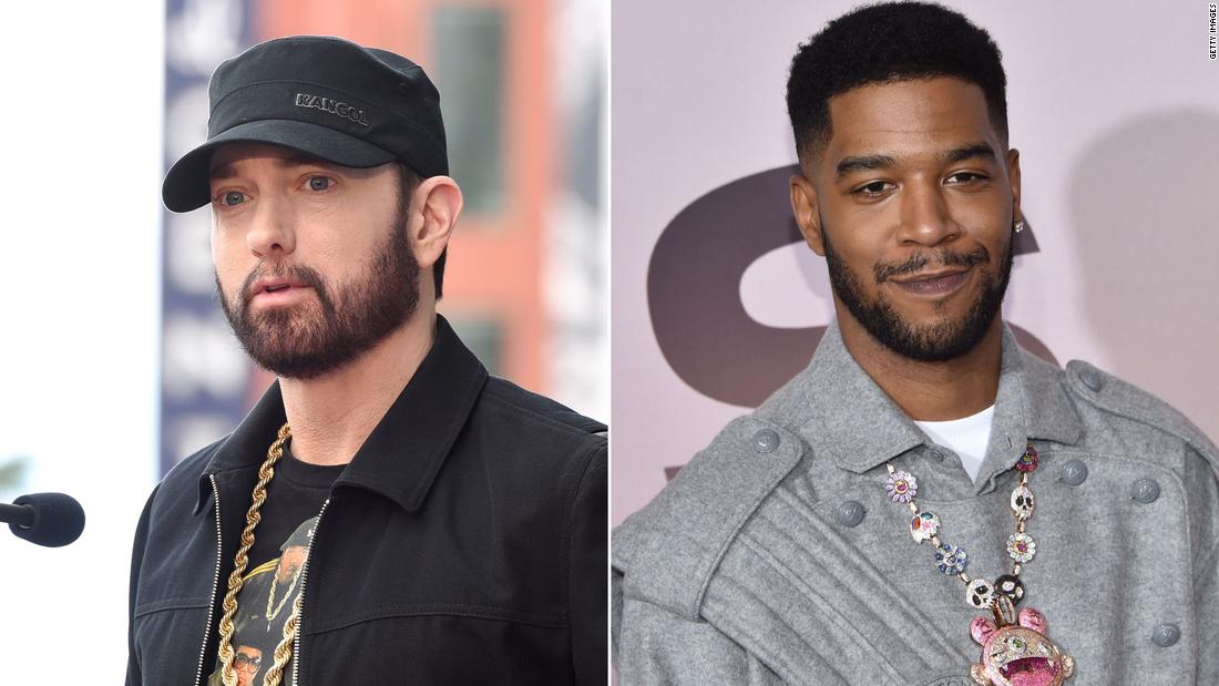 Eminem Slams People Who Don T Wear Masks In Kid Cudi Collaboration Song Cnn