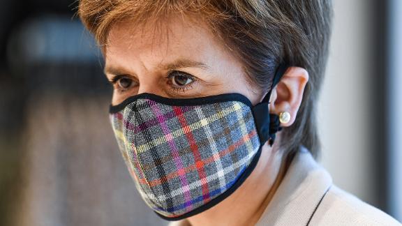 Nicola Sturgeon's tartan face mask has become a sartorial statement.