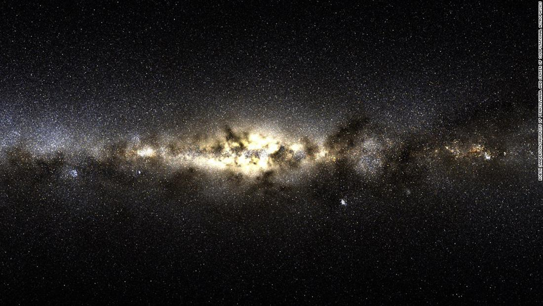 New stars found in the Milky Way were born outside of it - Armenian Reporter