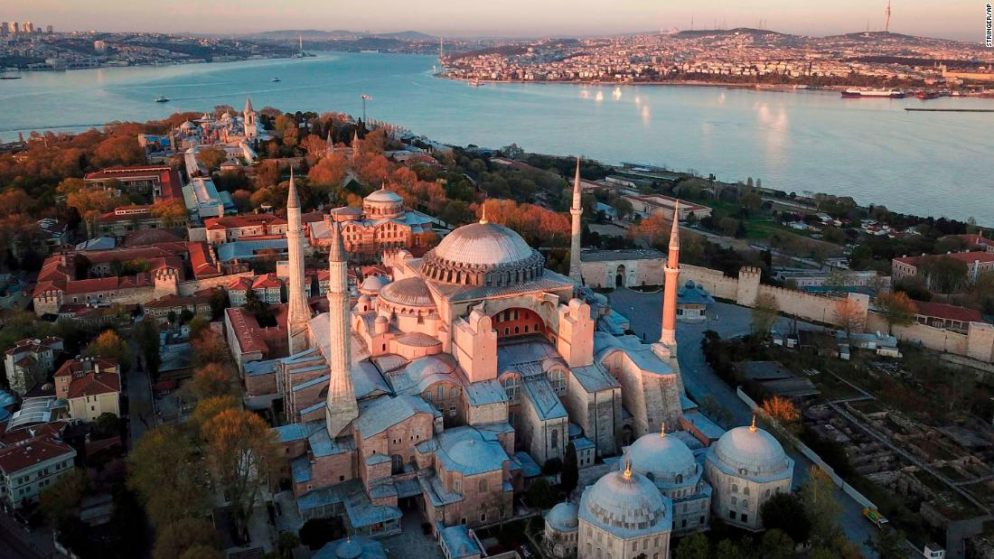 Turkey court ruling paves way for turning Hagia Sophia back into mosque thumbnail