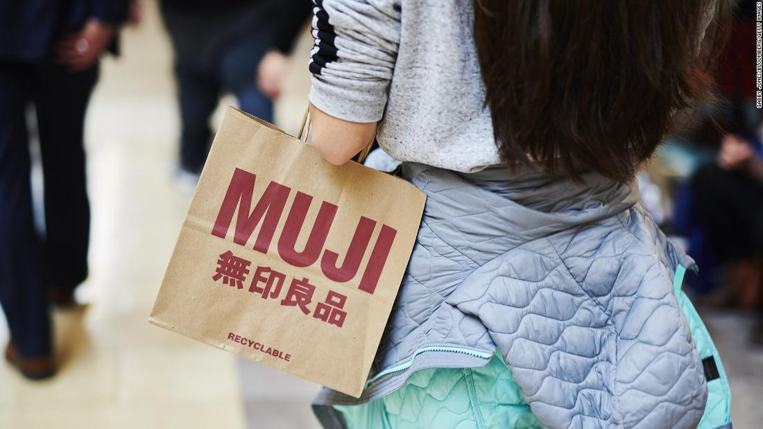 Muji files for bankruptcy