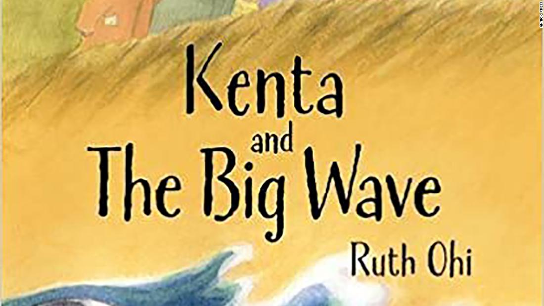 """Kenta and the Big"" Wave by Ruth Ohi is the story of a boy who faces disaster, based on true events amid the 2011 tsunami that hit coastal Japan."