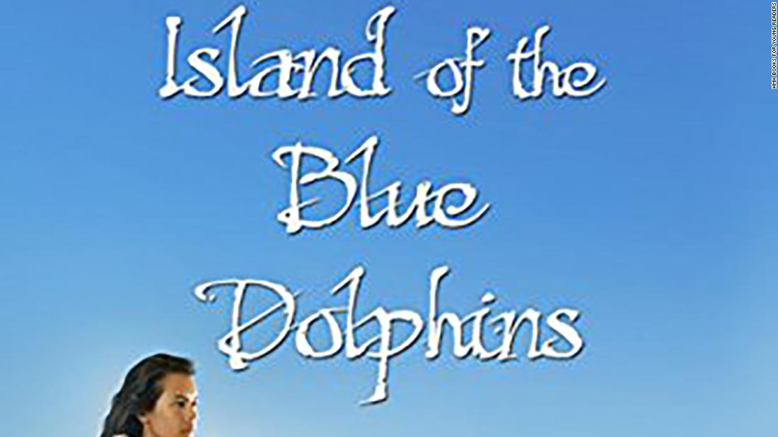 "In ""Island of the Blue Dolphins"" by Scott O'Dell, 12-year-old Karana learns to fend for herself while coping with loneliness, surviving alone on a coastal island."