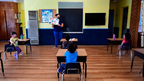 One in four teachers at greater risk from coronavirus