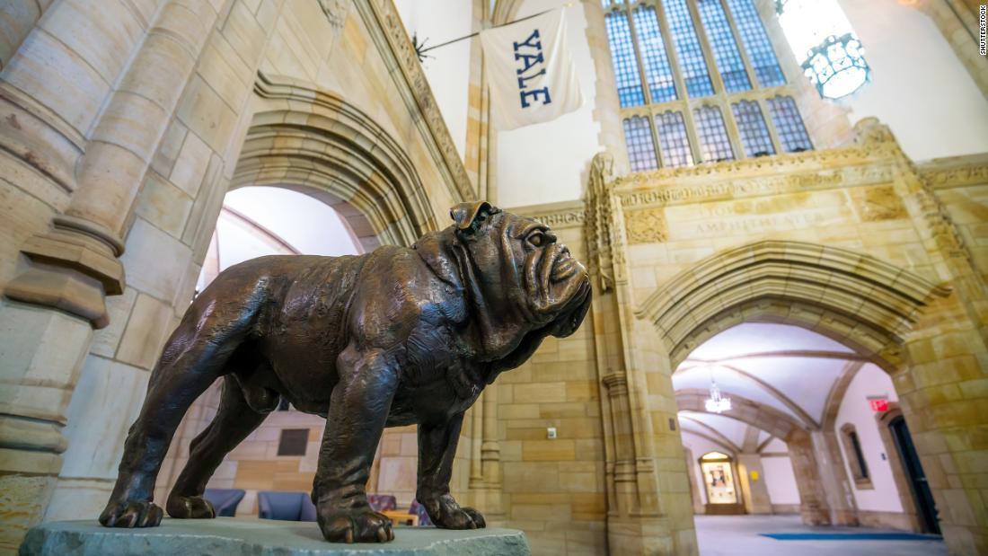 Yale University is named after Elihu Yale, a former slave trader.