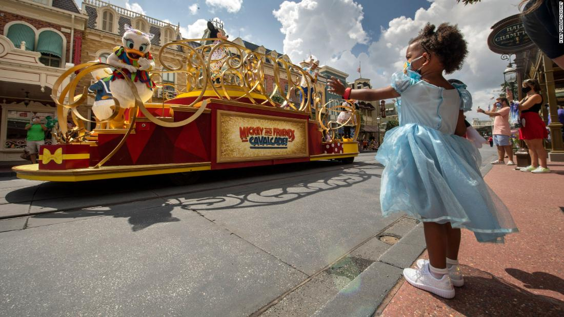 Enthusiasts determined to enjoy Disney World's reopening