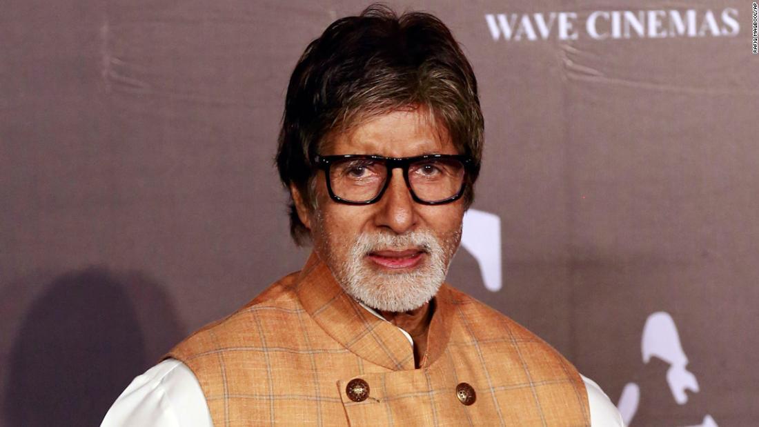 Bollywood superstar Amitabh Bachchan hospitalized for coronavirus