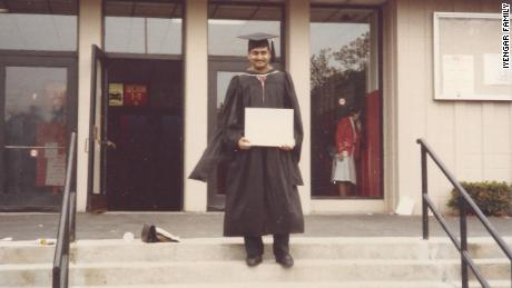 My father at his graduation at Rensselaer Polytechnic Institute in 1986.