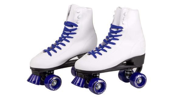 CSeven Soft Faux Leather Quad Roller Skates