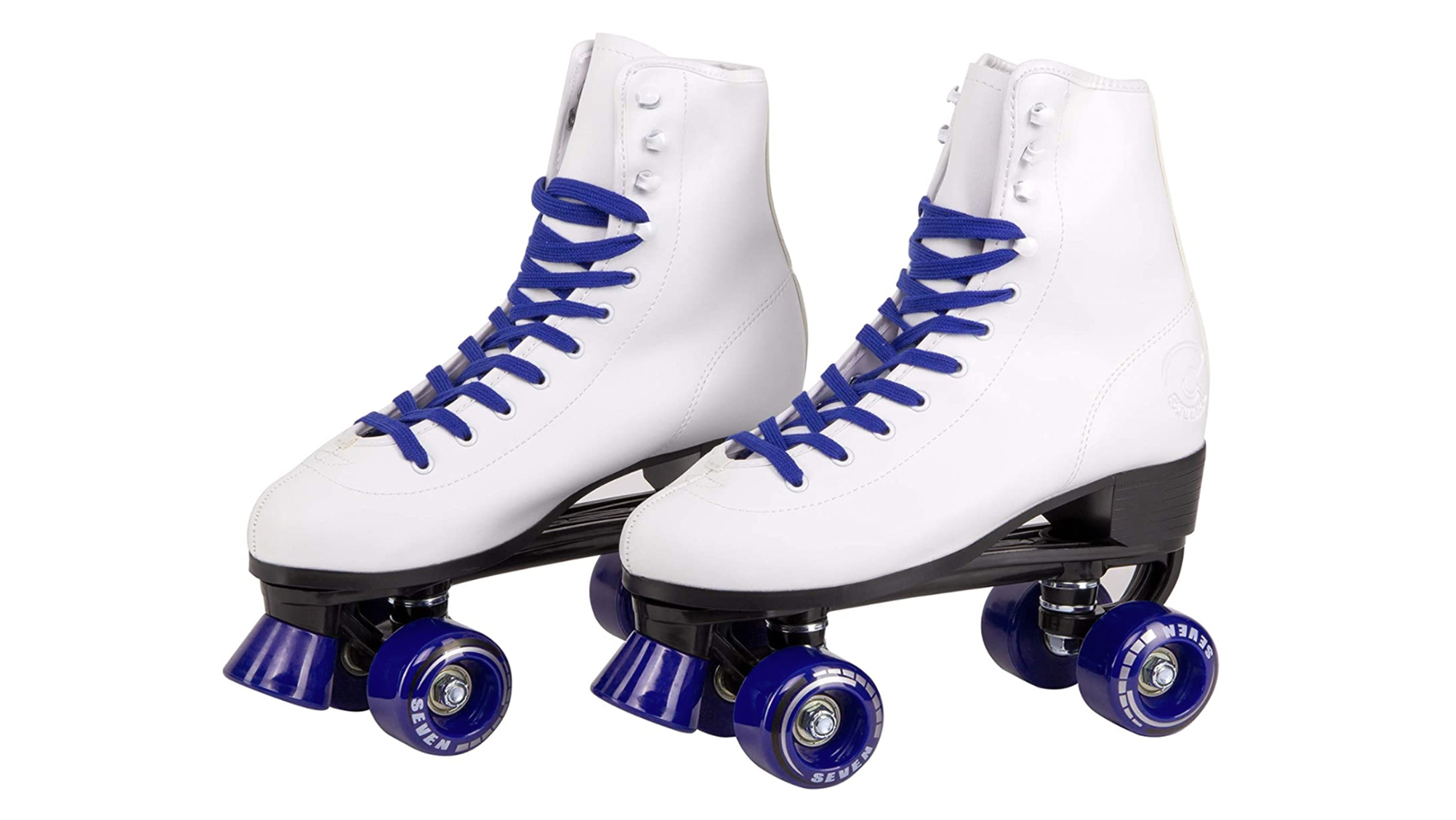 Redson Womens Roller Skates Four-Wheels Artificial Leather High-top Roller Skates Perfect Indoor Outdoor Adult Roller Skates with Bag