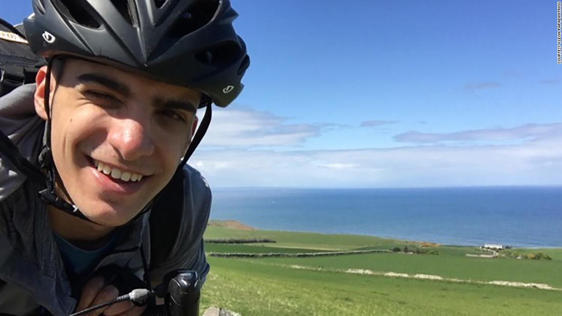 College student biked 48 days to make it home to family when flights were canceled