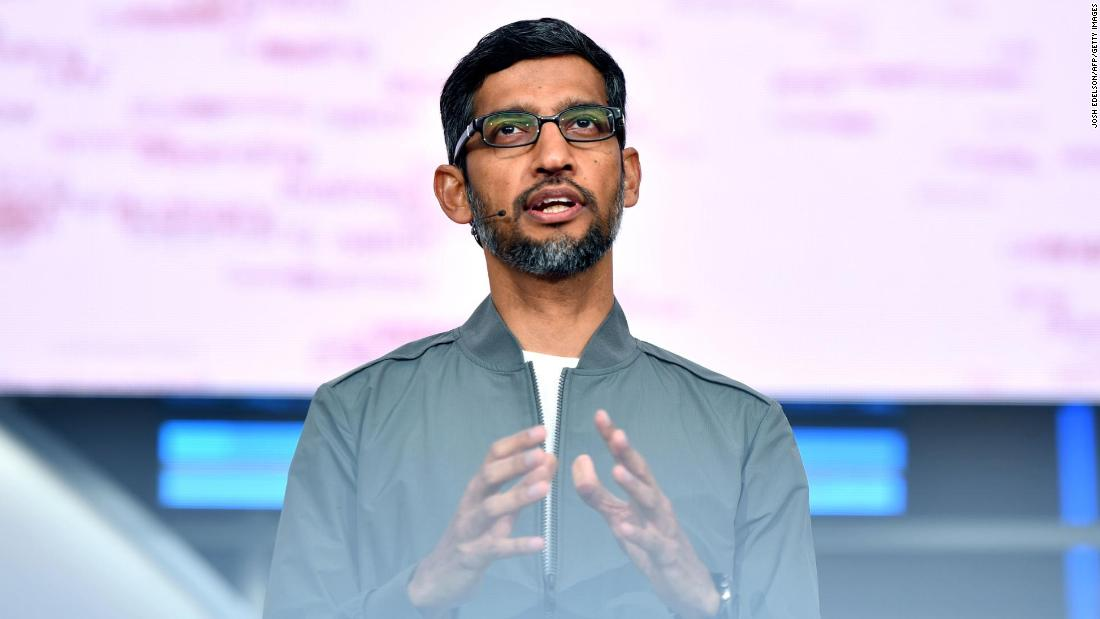 Google will invest $10 billion in India over the next few years
