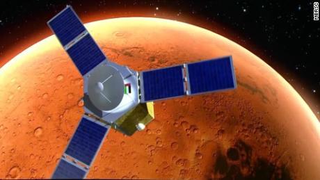 أطلقت دولة الإمارات العربية المتحدة بنجاح أول مهمة للمريخ في العالم العربي