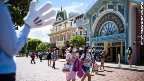 Hong Kong Disneyland will close again after a surge in coronavirus cases