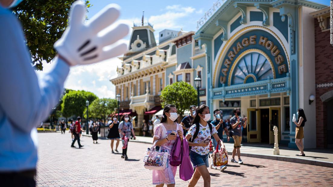 Hong Kong Disneyland will close again after a surge in coronavirus cases 59