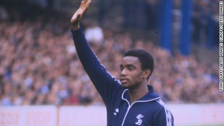 Laurie Cunningham formed part of the 'Three Degrees' alongisde Cyille Regis and Brendon Batson.