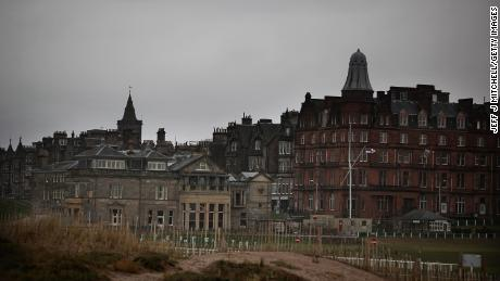 ST ANDREWS, SCOTLAND - NOVEMBER 22:  A general view of buildings on November 22, 2010 in St Andrews, Scotland. The newly engaged Prince William and Kate Middleton studied at the University of St Andrews and will marry in the spring or summer of 2011.  (Photo by Jeff J Mitchell/Getty Images)
