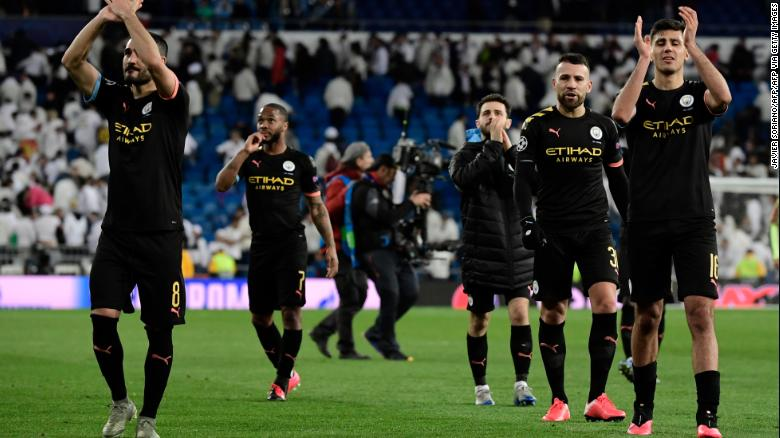 Manchester City s Champions League Ban Overturned By The Court Of Arbitration For Sport CNN