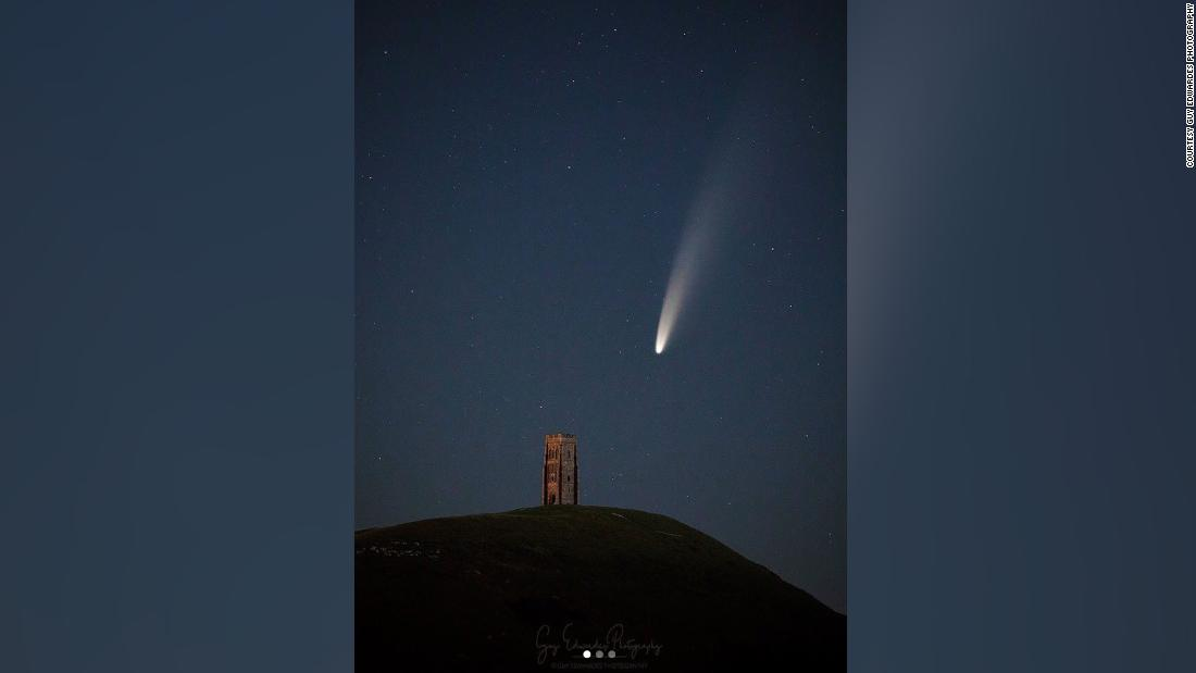 See comet that won't return for 6,000 years