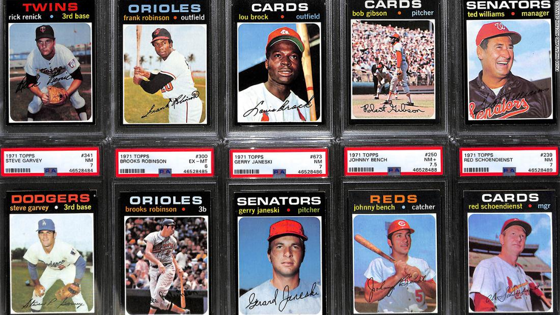 Uncle Jimmy baseball card collection could be worth millions - CNN
