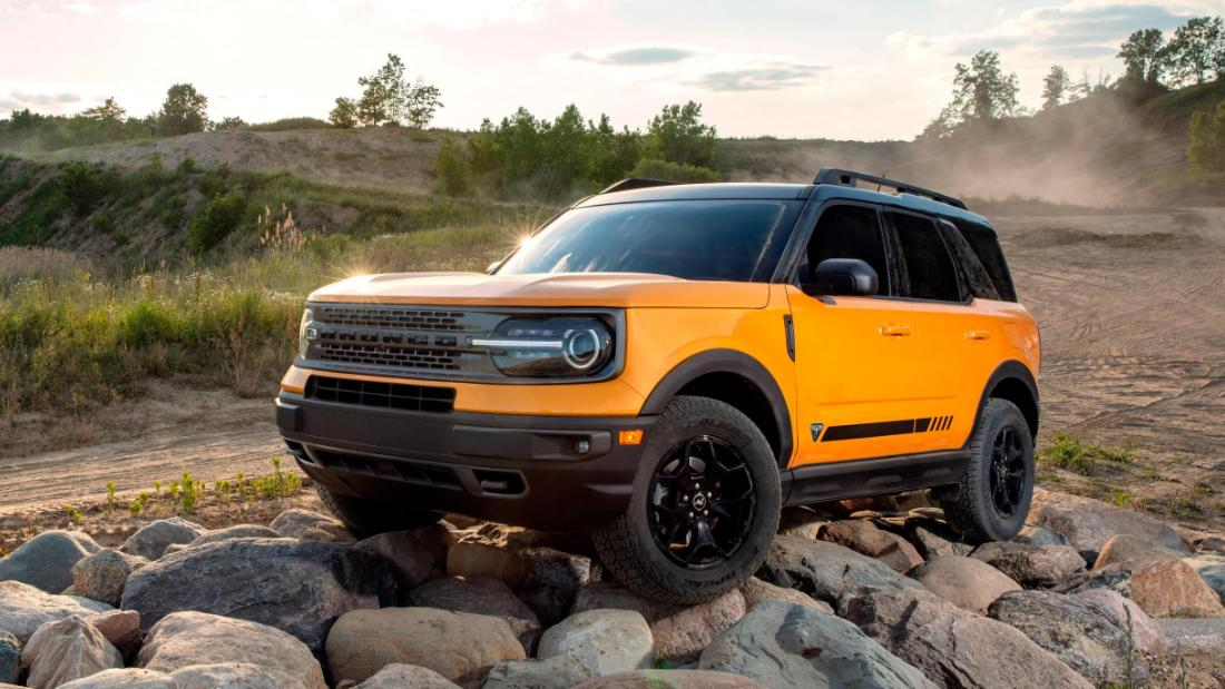 2021 Ford Bronco Reveal New Suvs Boast Of Jeep Beating Off Road Abilities Cnn